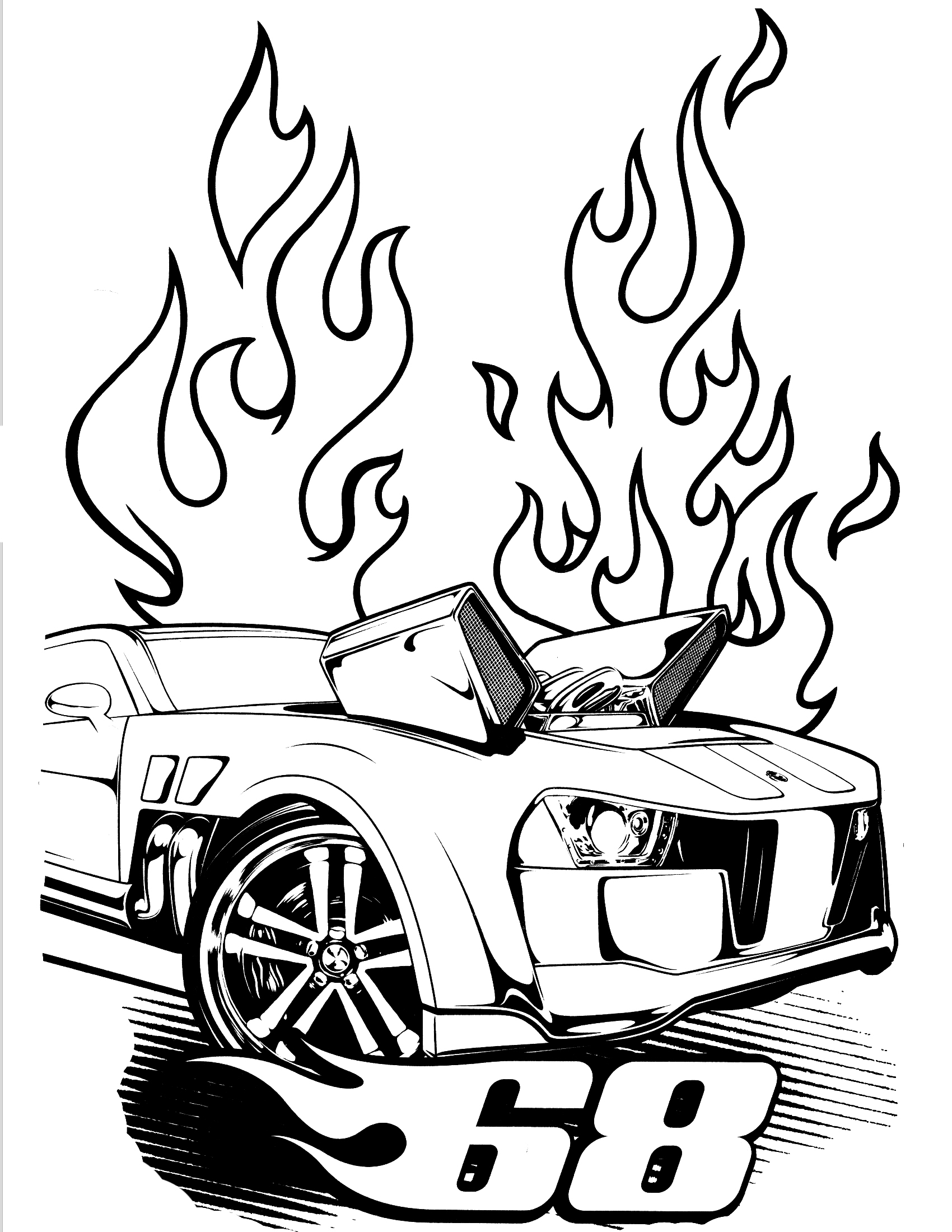 Dodge Challenger G T Coloring Page Dodge Coloring Pages to Print Download Of Coloring Books and Pages Simple Hot Rod Coloring Pages Pinterest Printable
