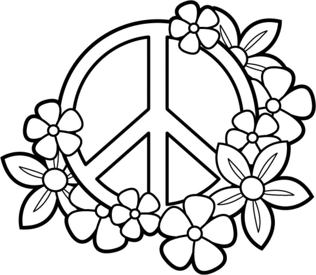 Awesome Hard Flower Coloring Pages for Teenagers Design to Print ...