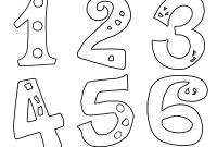 Preschool Number Coloring Pages - Educational Fun Kids Coloring Pages and Preschool Womanmate Download