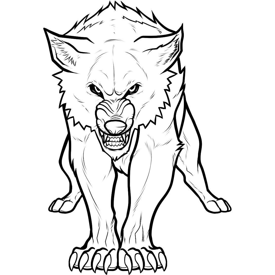 Elegant Coloring Pages Anime Wolfs Anime Wolf Coloring Pages ...