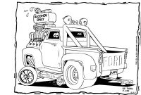 Hot Rod Coloring Pages to Print - Elegant Muscle Car Hot Rod Drawings Group 90 Download
