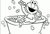 Free Elmo Printable Coloring Pages - Elmo Printable Coloring Bday Cards Worksheet & Coloring Pages Gallery
