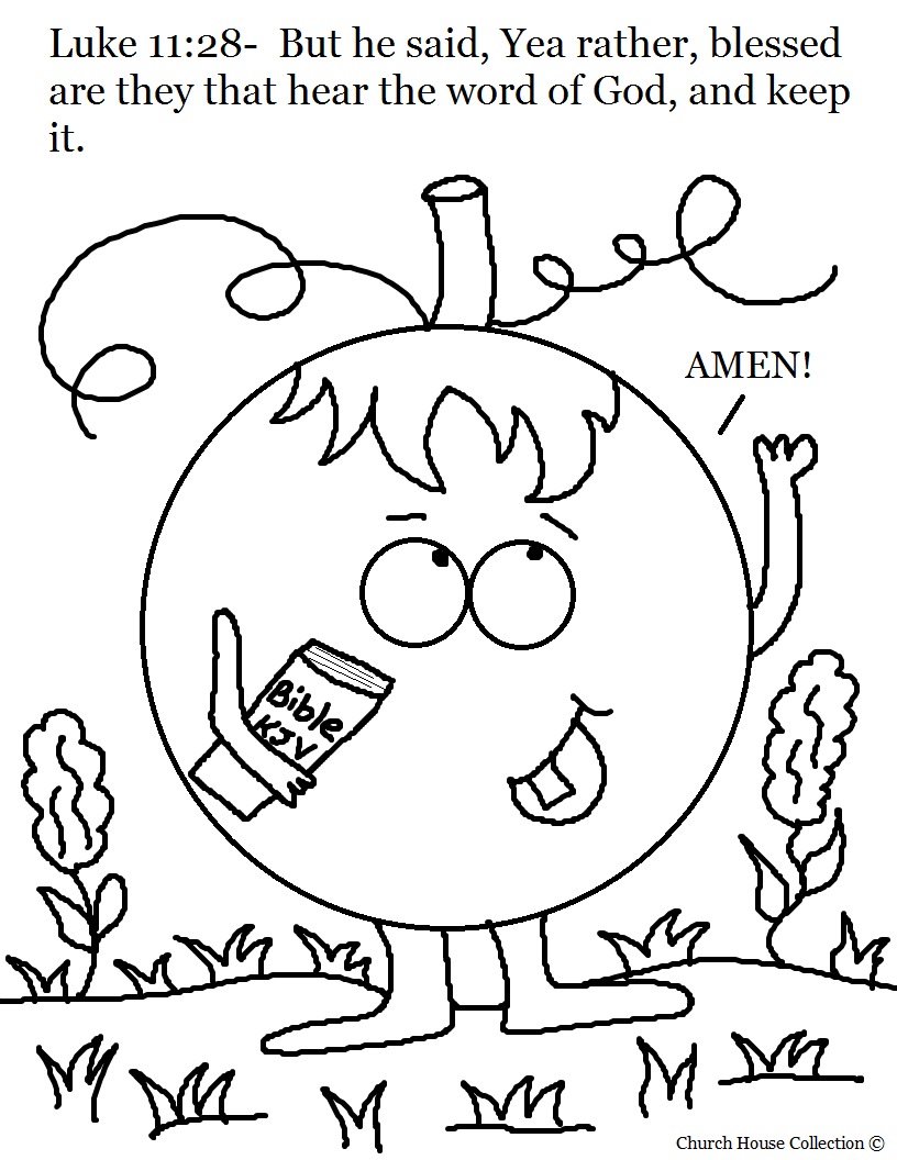 Coloring Pages for Sunday School Lessons Printable 17k - Free Download