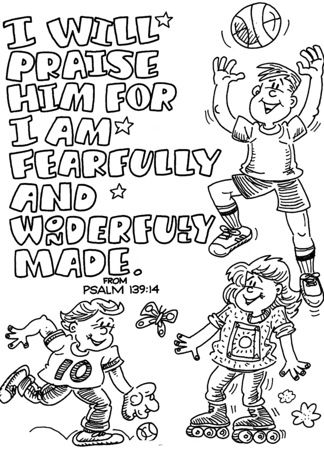 Praise and Worship Coloring Pages Printable 13m - Free For Children