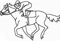 Race Horse Coloring Pages - Fascinating Race Horse Coloring Page Many Interesting Cliparts Pics to Print