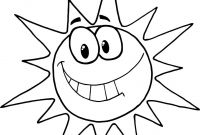 Smiling Coloring Pages - Fascinating Sun Coloring Pages Page Cartoon Character Smiling Collection