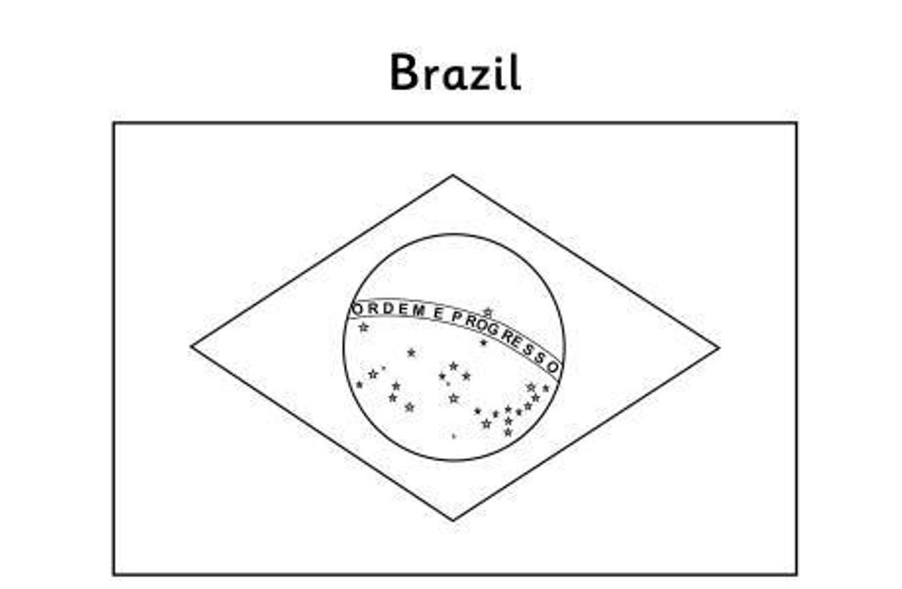 Coloring Pages Flags From Around the World to Print 5r - Free Download