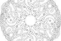 Celtic Mandalas Coloring Pages - Free Celtic Mandala Coloring Pages Printable