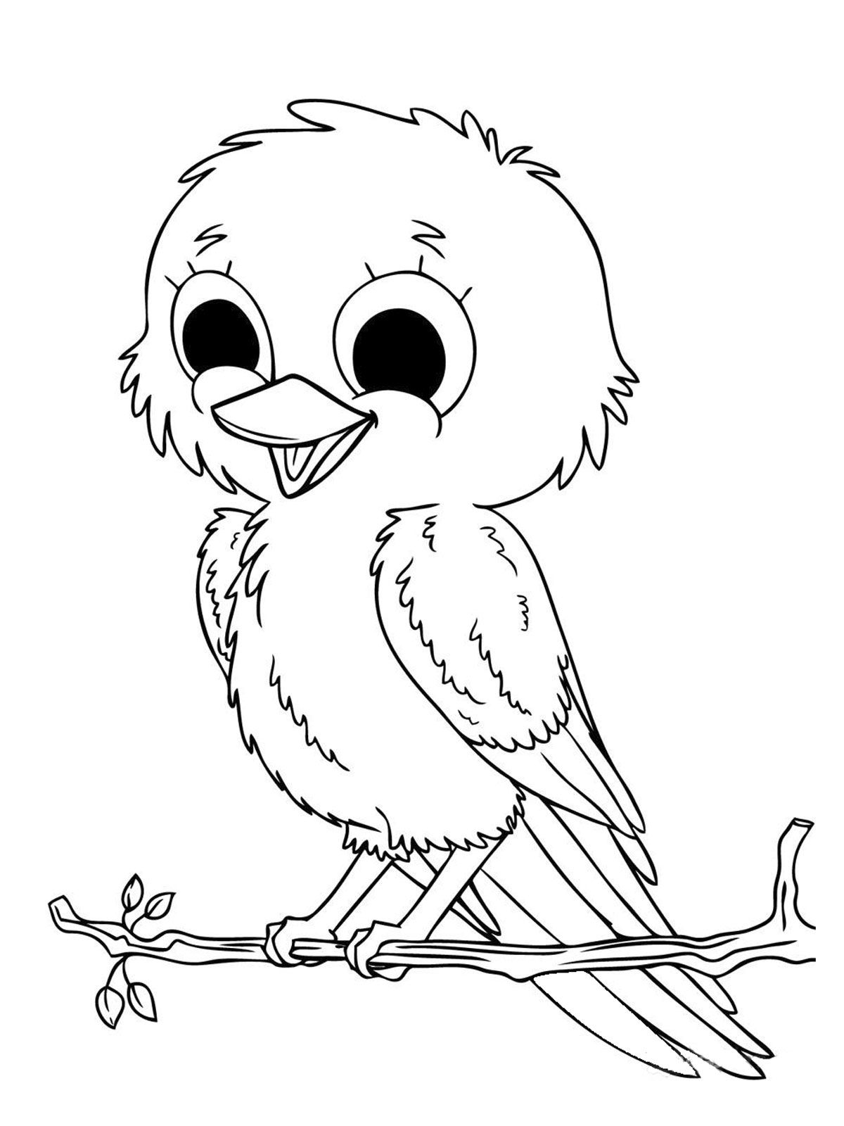 Free Coloring Pages Printable Of Baby Animal Download