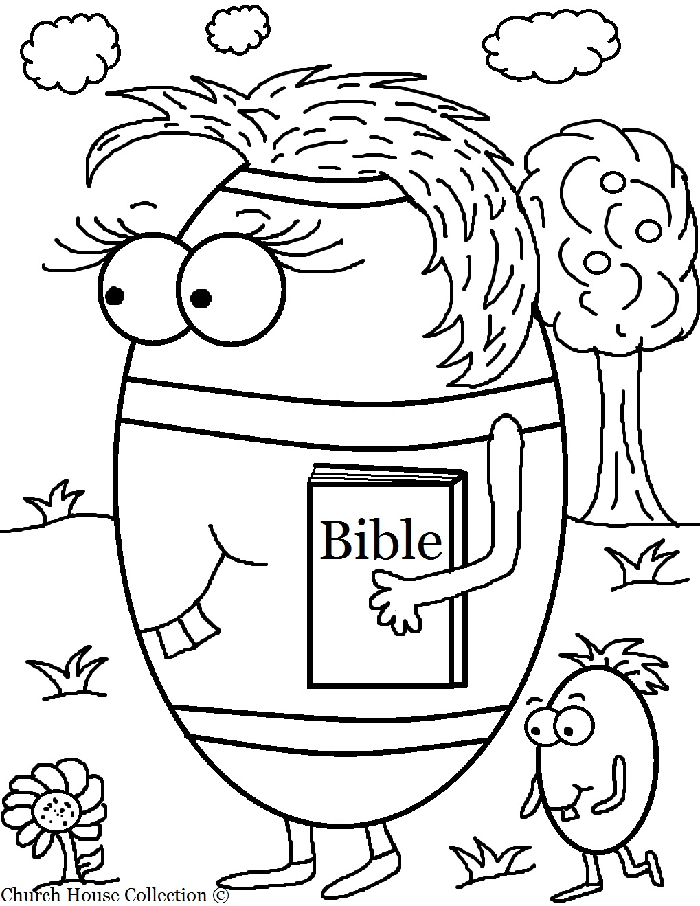 Sunday School Easter Coloring Pages 24 Church 6 Download – Free ...