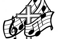 Praise and Worship Coloring Pages - Free People Singing In Church Download Free Clip Art Collection