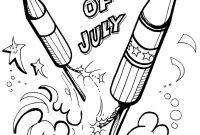 Coloring Pages 4th Of July Printable - Free Printable Fireworks Coloring Pages Fun Kids Safety 4th July New Printable