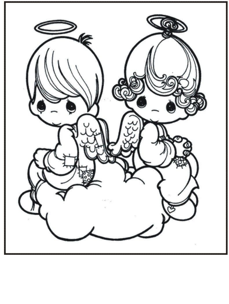 Precious Moments Coloring Book Pages to Print Gallery 10d - To print for your project