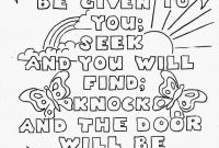 Praise and Worship Coloring Pages - Free Printable Scripture Coloring Page to Print