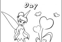 Printable Tinkerbell Coloring Pages - Free Printable Tinkerbell Coloring Pages for Kids Line Entrancing Download