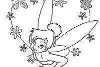 Printable Tinkerbell Coloring Pages - Free Printable Tinkerbell Coloring Pages for Kids to Print