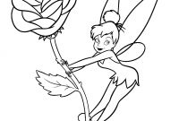 Printable Tinkerbell Coloring Pages - Free Printable Tinkerbell Coloring Pages for Kids within Color Page Printable