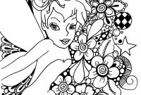 Printable Tinkerbell Coloring Pages - Free Tinkerbell Coloring Page Pages Games Line and Friends Printable