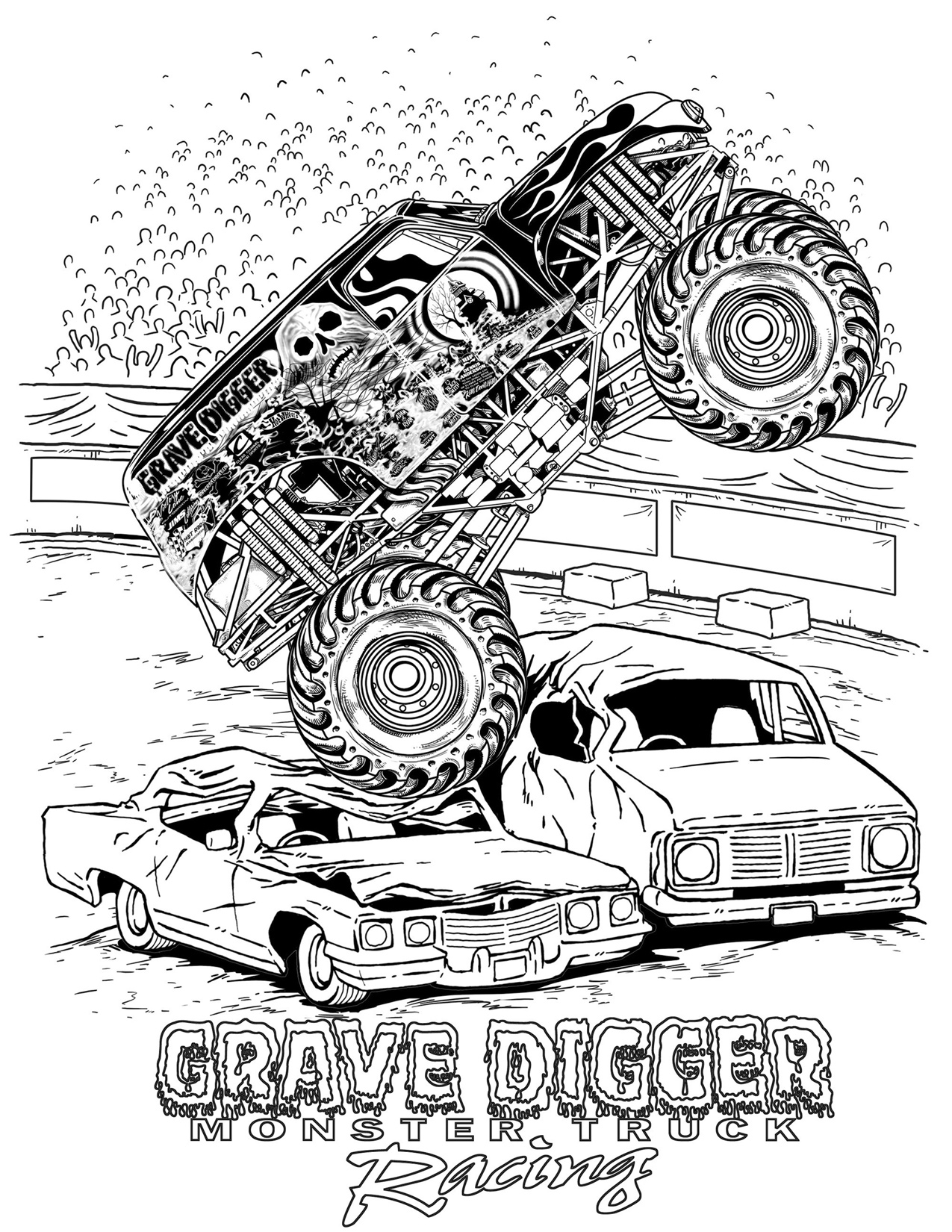 Hot Rod Coloring Pages to Print Download | Free Coloring ...