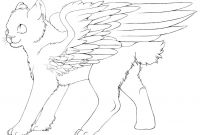 Winged Cat Coloring Pages - Free Winged Cat Lineart by Color Freak1 On Deviantart Collection