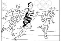 Special Olympics Coloring Pages - Games athletics Paris 2024 Olympic & Sport Adult Coloring Pages Collection
