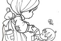 Precious Moments Coloring Book Pages to Print - Get This Precious Moments Coloring Pages Free for toddlers 6dh4a and Collection