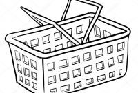 Shopping Coloring Pages - Grocery Shopping Coloring Pages to Print