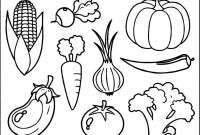 Coloring Pages Of Healthy Foods - Healthy Eating Coloring Pages for Preschool Printable
