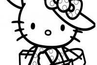Shopping Coloring Pages - Hello Kitty Home Shopping Hello Kitty Coloring Pages Download