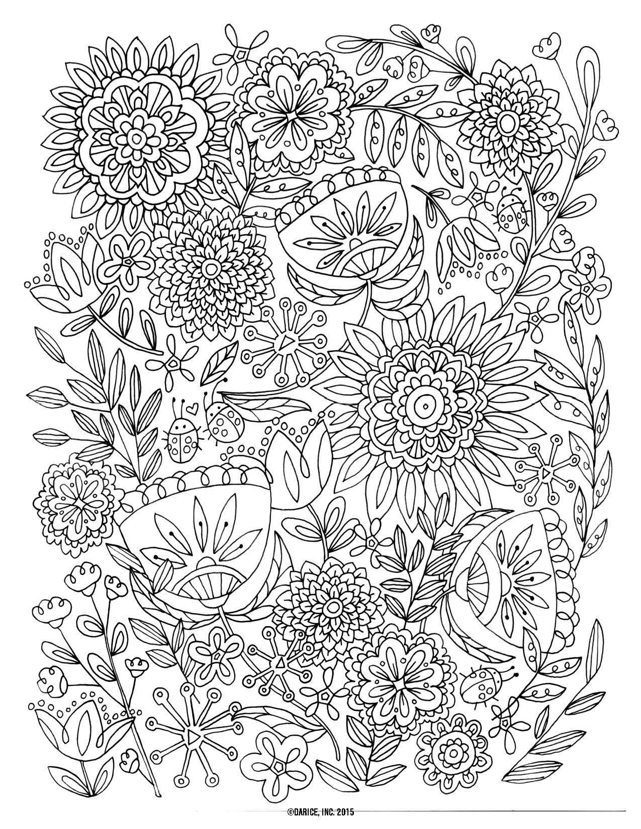 Herbs Coloring Pages Collection to Print Of Blooming Herbs Coloring Page Ultra Coloring Pages Download