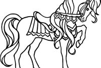 Race Horse Coloring Pages - Horse Drawing Kids at Getdrawings – Fun Time Collection
