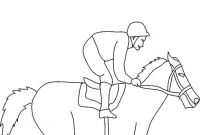 Race Horse Coloring Pages - Horse Racing Color Pages Horse Racing Coloring Derby Download
