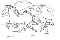 Race Horse Coloring Pages - Horse Racing Coloring Pages Printable
