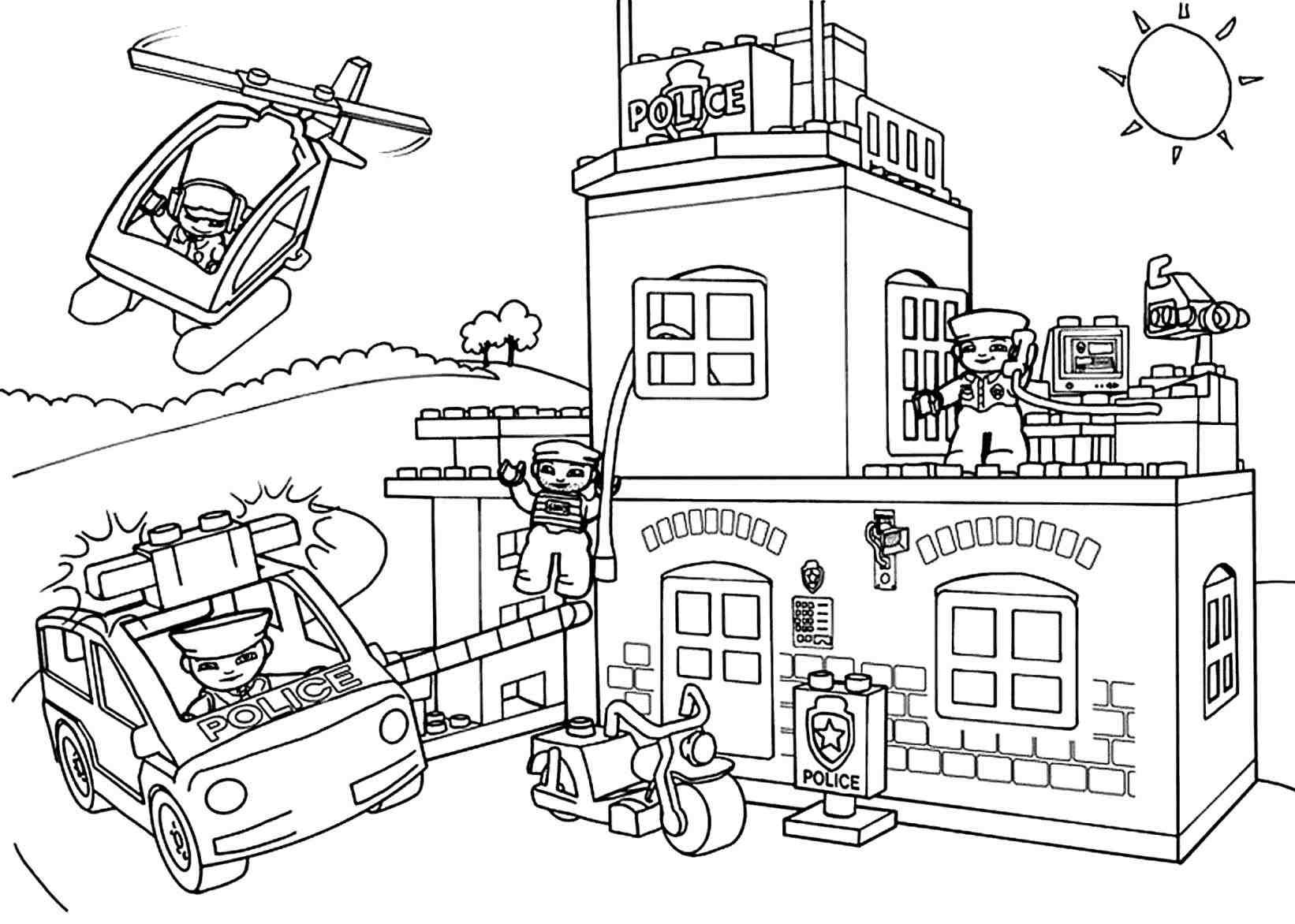 Hospital Coloring Pages Printable to Print 8m - Free For kids