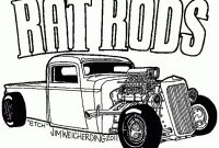 Hot Rod Coloring Pages to Print - Hot Rod Coloring Pages Gamz Collection