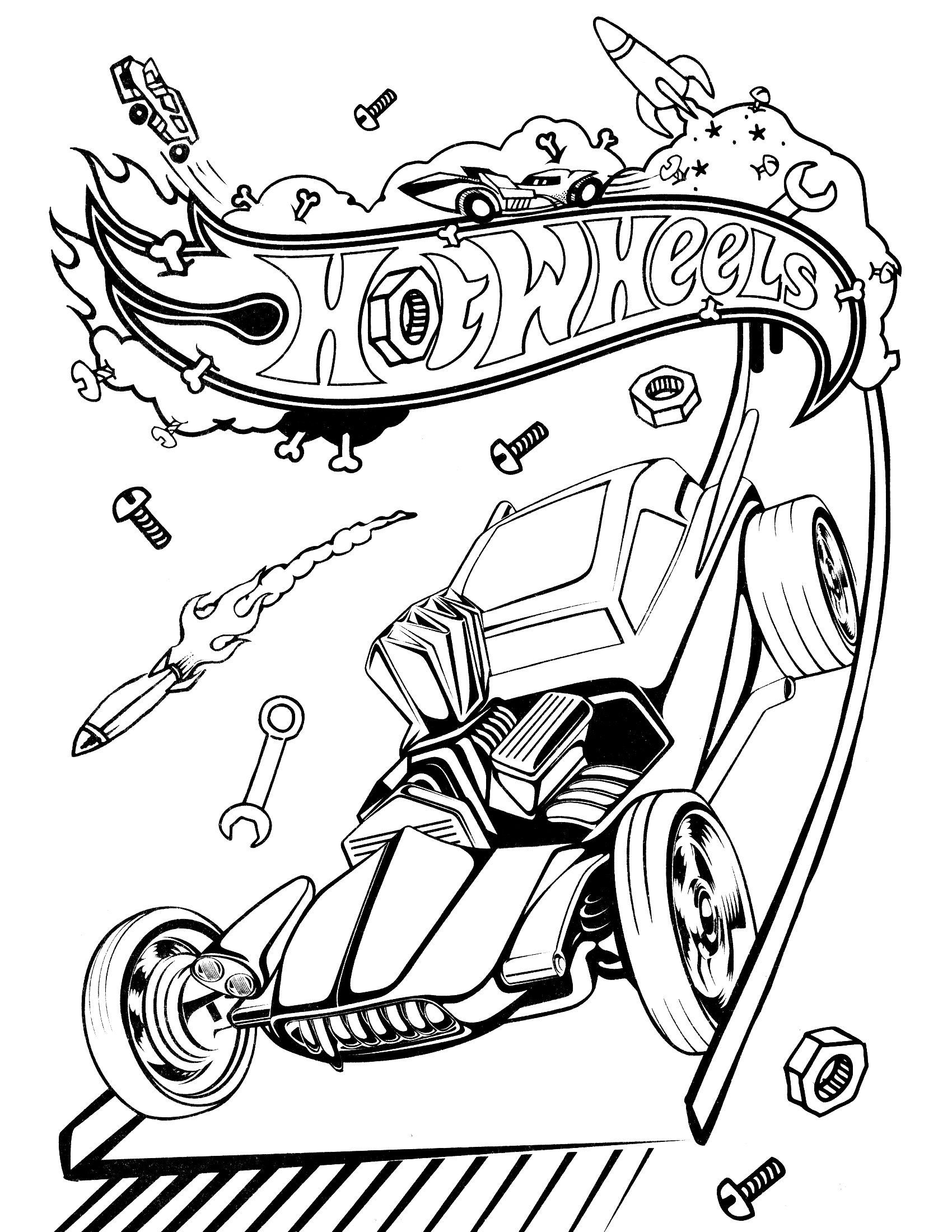 Hot Wheels Coloring Pages Hotrod Coloringstar Collection Of Coloring Books and Pages Simple Hot Rod Coloring Pages Pinterest Printable