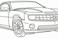 Hot Rod Coloring Pages to Print - How to Draw A Car Printable