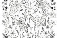 Printable Tinkerbell Coloring Pages - Inspiring Design Ideas Printable Tinkerbell Coloring Pages Free for Collection