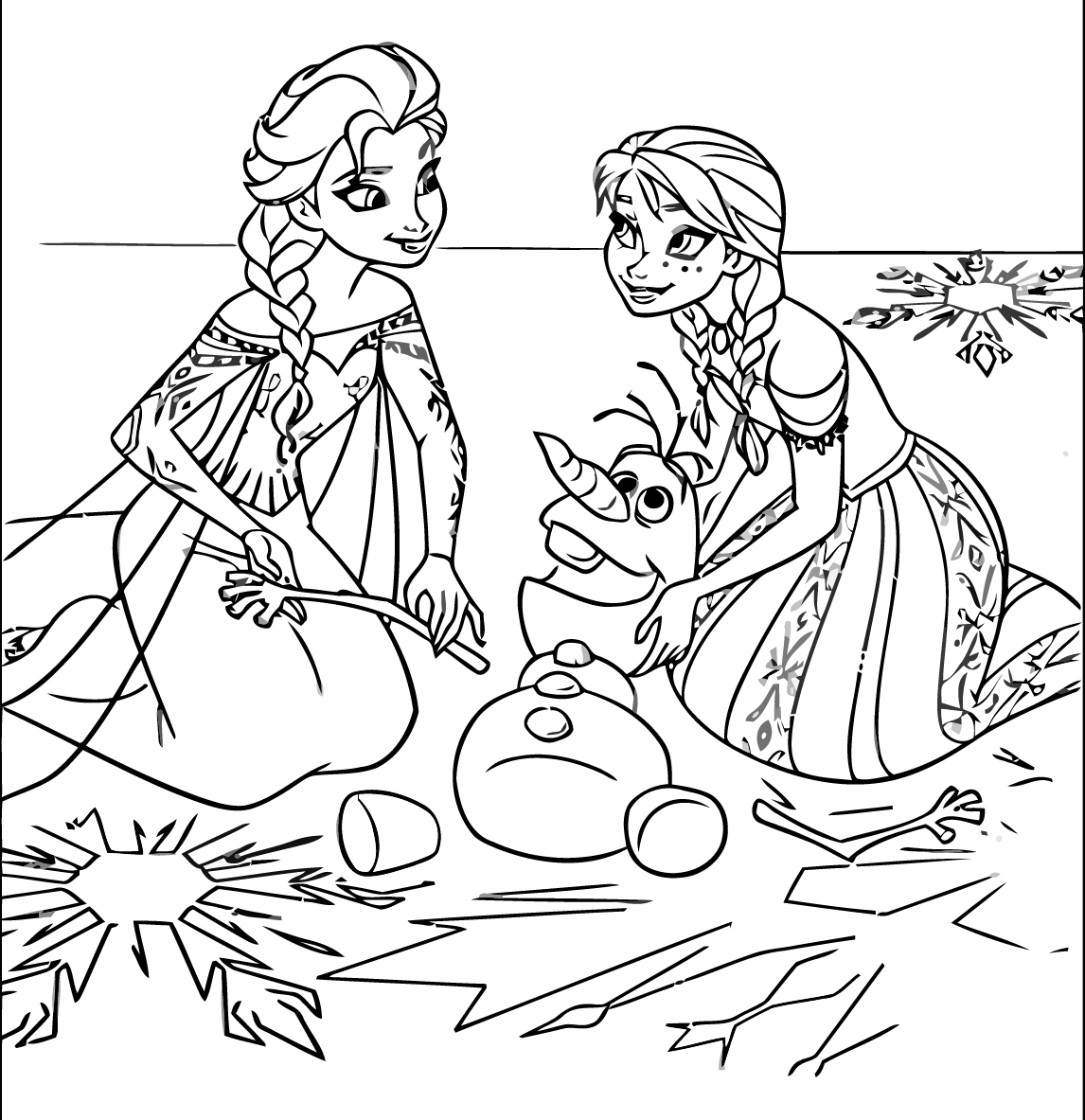 Inspiring Frozen Coloring Pages Line Colouring to Cure Generous Gallery Of 13 Kid Coloring Pages Line Gallery