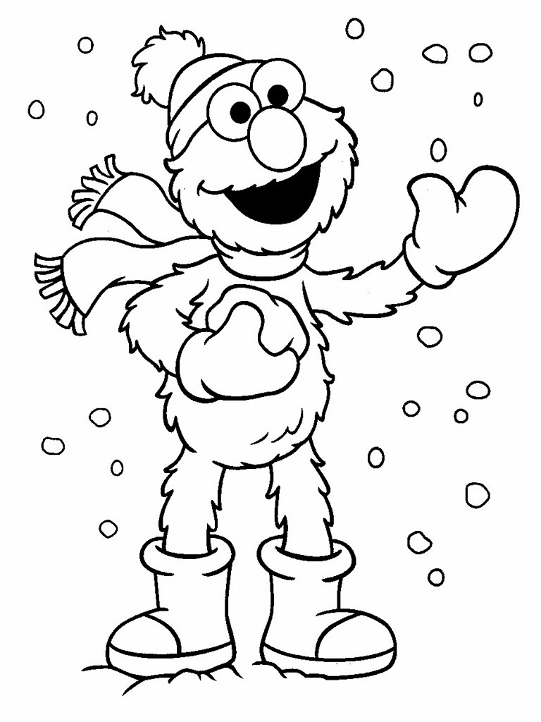 Free Elmo Printable Coloring Pages Download 1o - Free For kids