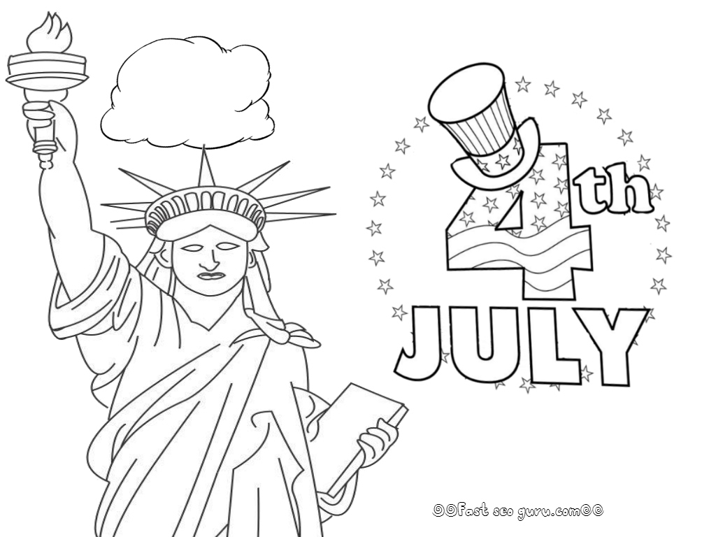 July Coloring Pages Unique 4th July Coloring Pages – Logo and ...