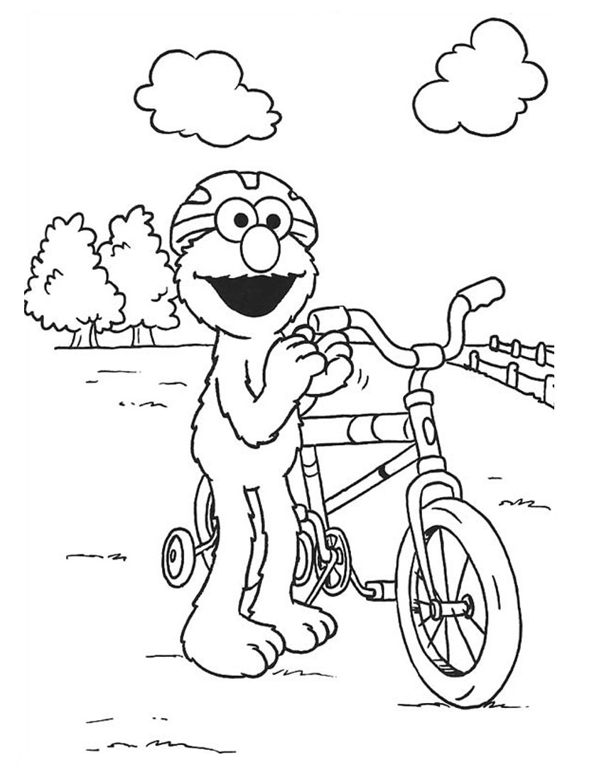 Free Elmo Printable Coloring Pages Download | Free Coloring Sheets