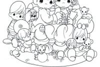 Precious Moments Coloring Book Pages to Print - Marvelous Printable Precious Moments Coloring Pages for Kids Image Download