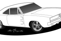 Hot Rod Coloring Pages to Print - Muscle Car Coloring Pages Coloring Pages Download