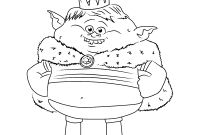 Child Coloring Pages Online - New Free Disney Trolls Printable Coloring Pages Design Gallery