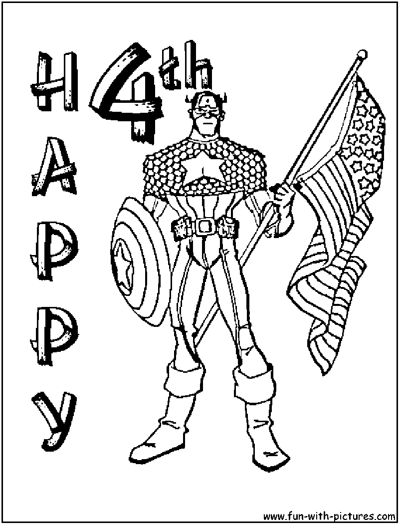 New Printable Adult 4th July Coloring Pages Gallery