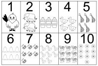 Preschool Number Coloring Pages - Number Coloring Pages Bonnieleepanda Gallery