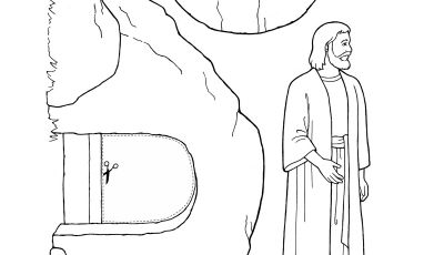 Coloring Pages Of Jesus Christ Resurrection - Nursery Manual Page 123 Jesus Christ Was Resurrected Download