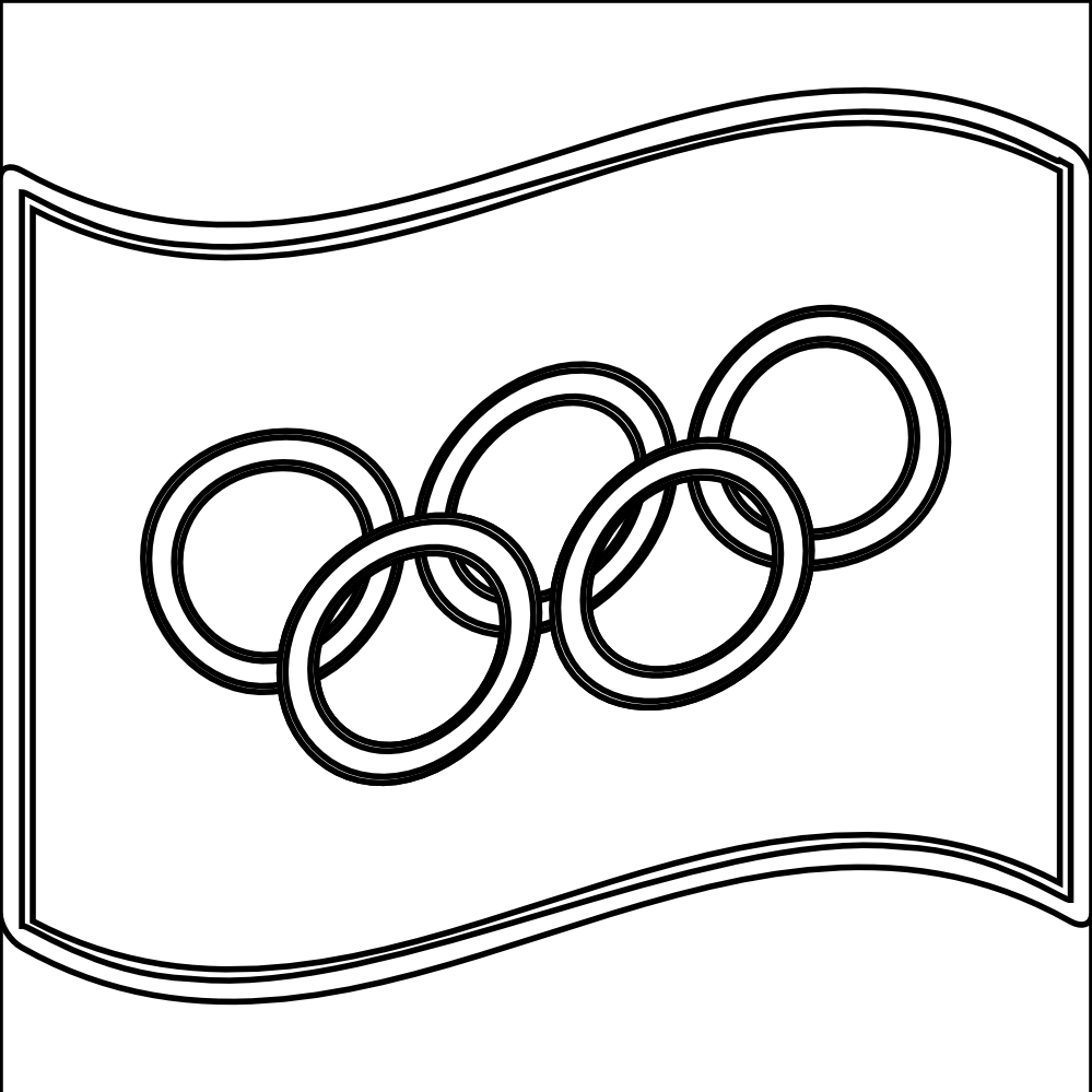 Olympic Circles Coloring Pages and Print for Free Collection Of Olympic Games Gymnastic Paris 2024 Olympic & Sport Adult to Print