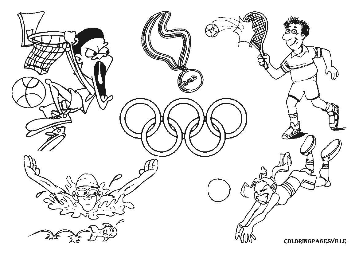 Olympic Swimming Coloring Pages Best Coloring Pages Games Image Printable Of Olympic Games Gymnastic Paris 2024 Olympic & Sport Adult to Print